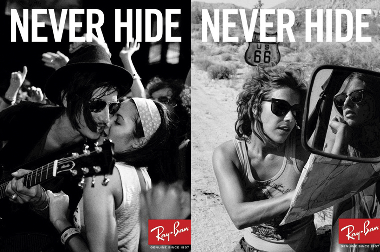 Ray-Ban Never Hide